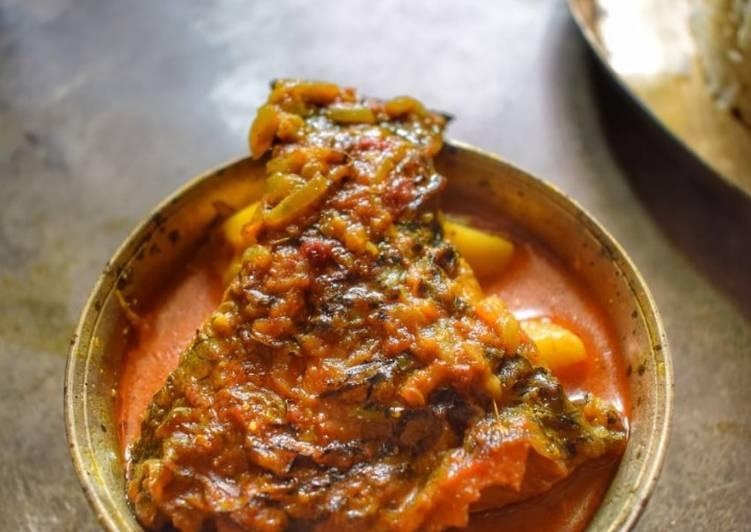 Simple Way to Make Ultimate Katla mach er spicy jhol