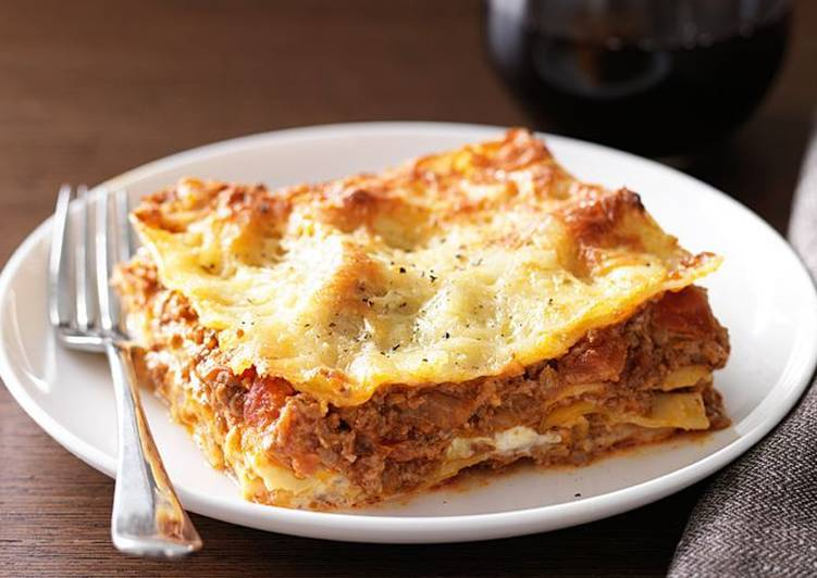 How to Prepare Delicious Beef Lasagne