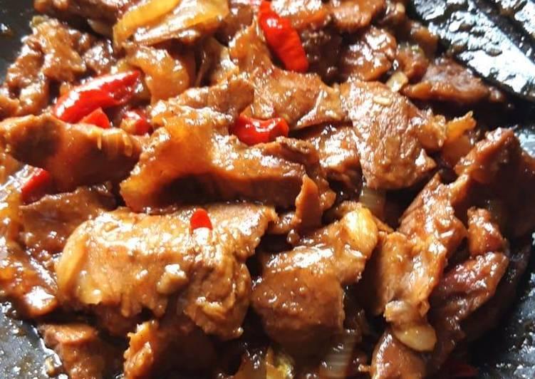Resep Semur Daging Saus Teriyaki, Menggugah Selera