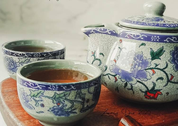Saenggang Cha (Korean Ginger Tea) - resepipouler.com