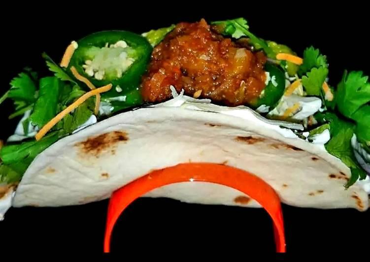 Recipe: Tasty Mike's Pork Chili Verde Burritos