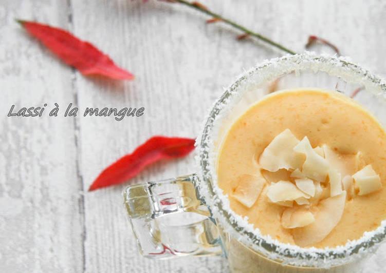 Recipe: Perfect Lassi à la mangue