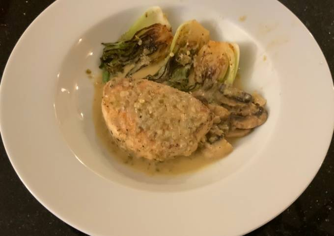 Swordfish Poached in a Jalapeño Lemon Butter Sauce