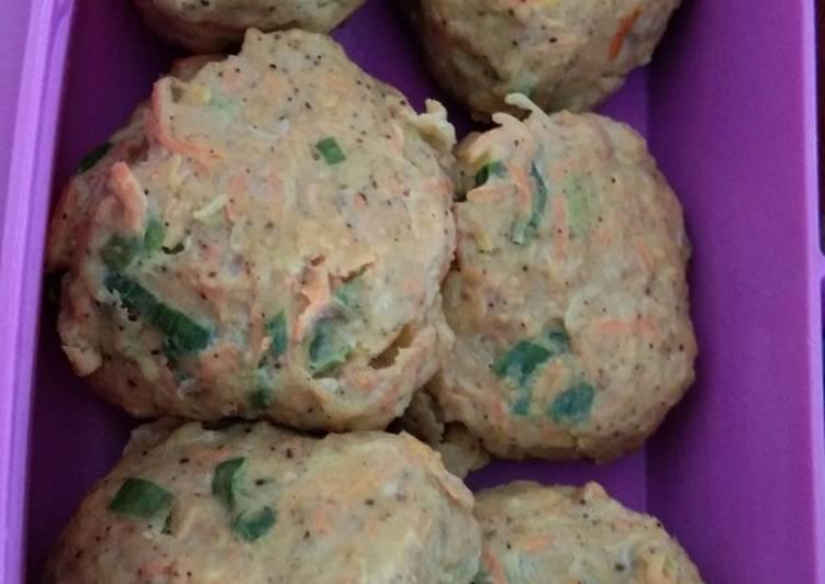 Snack box for diet: somay ayam (tanpa tepung)