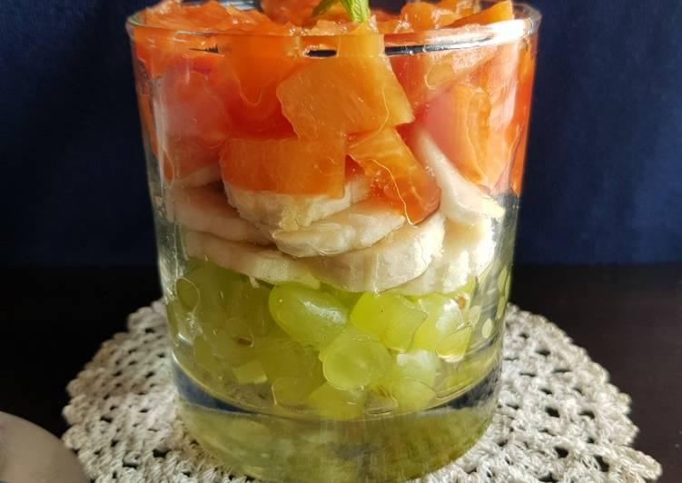 Easiest Way to Prepare Favorite Tricolor Fruit Salad