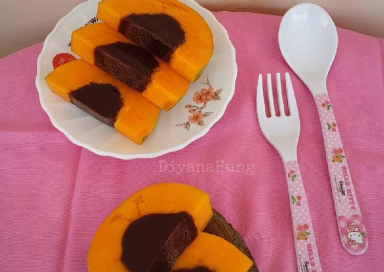 Puding Coklat Pepaya