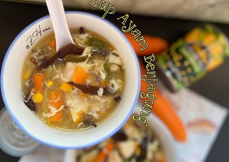Sup Ayam Berjagung ala² chinese style - velavinkabakery.com