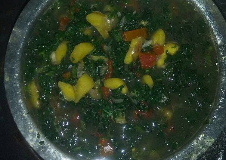 Recipe of Perfect Stinging Nettle Banana stew