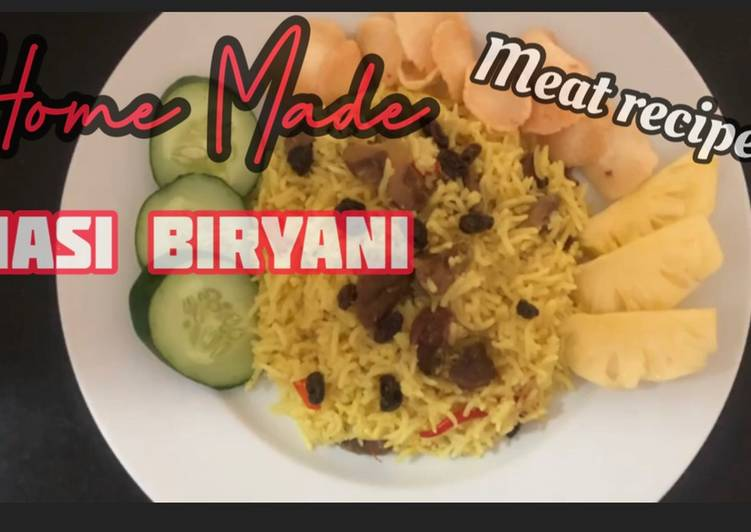 Nasi Biryani Home Made