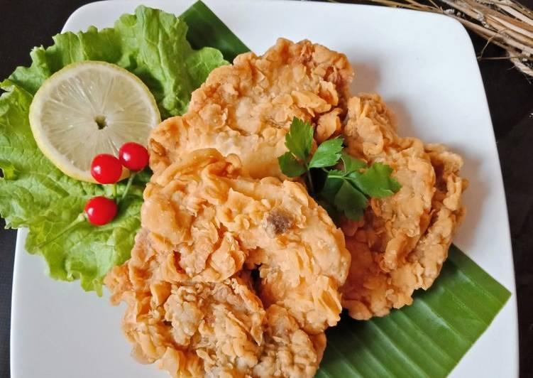 Ayam crispy keriting