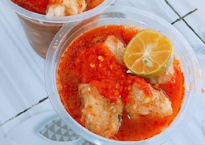Cibay (cireng banyur sambel)