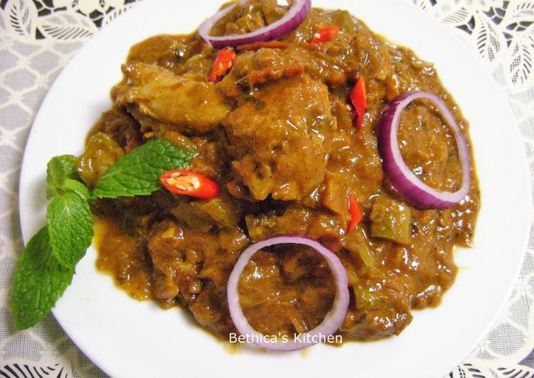 Foods That Make Your Mood Better Turai Chicken (Chicken cooked with Ridge Gourd)