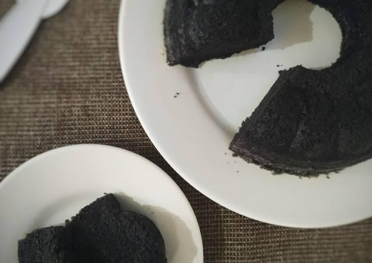 resep mengolah Bolu Ketan Hitam Kukus - Sajian Dapur Bunda