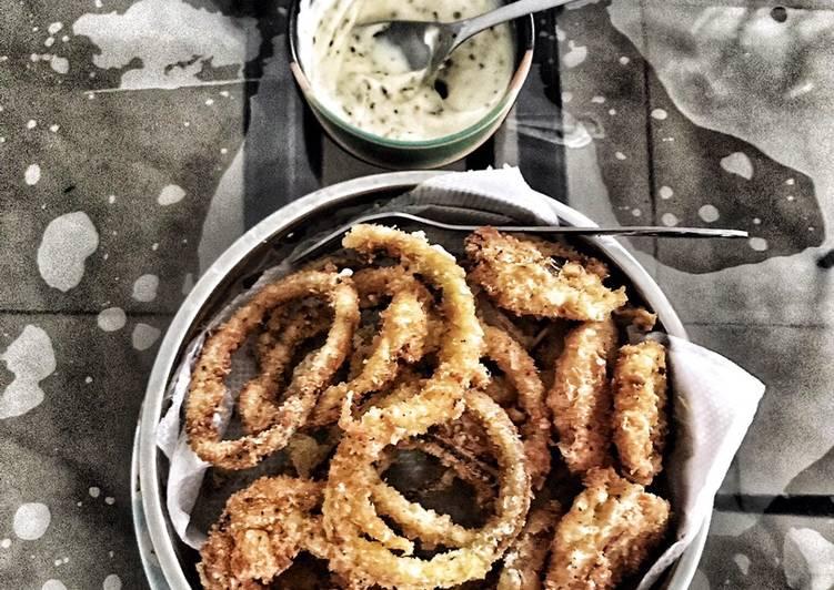 Crispy Golden Onion Ring
