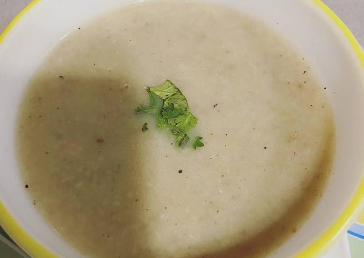Recipe of Speedy Mushroom soup