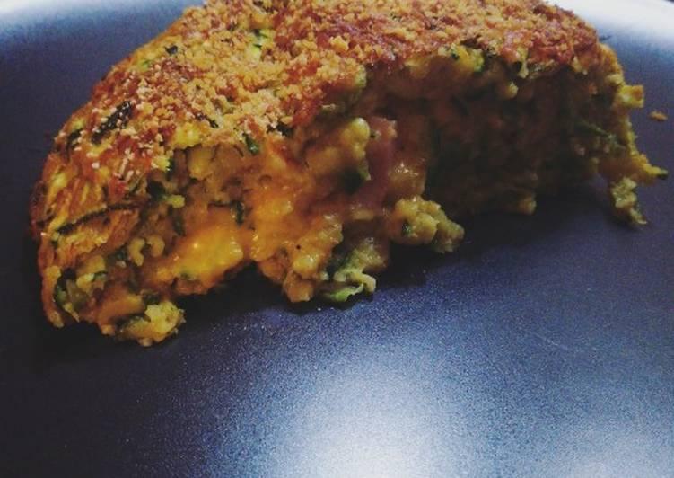 Ricetta Polpettone di zucchine con formaggio e prosciutto