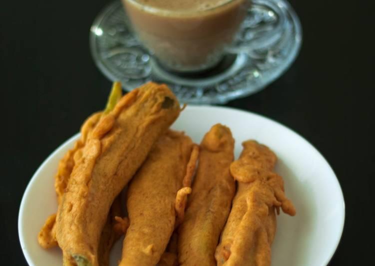 30 Minute Steps to Prepare Homemade Mulaku/ Chilli Bhaji