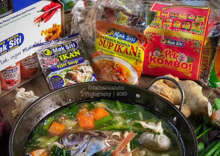 Resepi:  Sup Ikan Merah  Enak