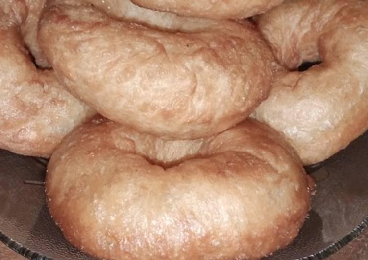 Bagaimana Membuat Donut simple empuk no kentang no telur yang Bikin Ngiler