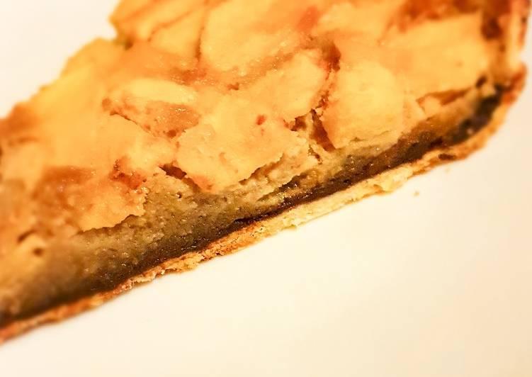 Recette Délicieux Tarte pomme amande chocolat
