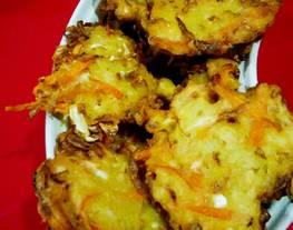 Bakwan sayuran(tepung bakwan Mama suka)