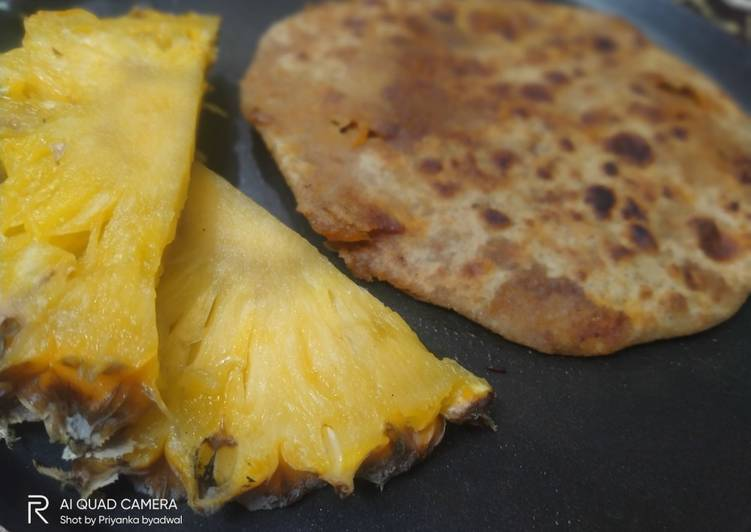 Step-by-Step Guide to Make Award-winning Pineapple paratha