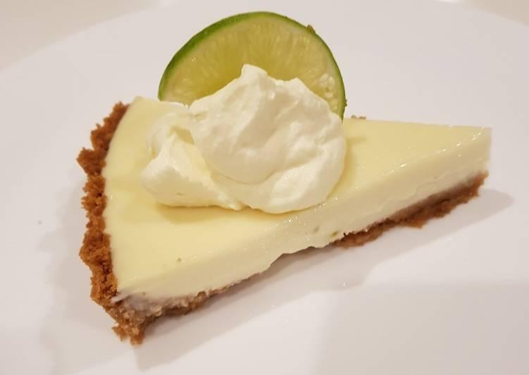 พายมะนาว (Lime pie)
