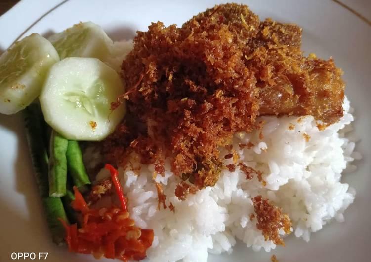 Nasi Babat Serundeng Kelapa khas Madura - cookandrecipe.com