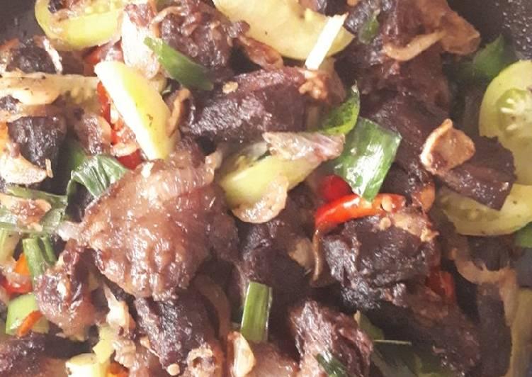 Resep Daging Kuda Goreng Yummy Oleh Eva Rosani S Cookpad