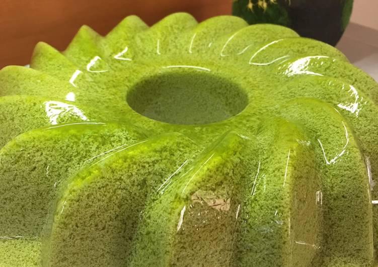 Puding Lumut Green Tea #ketofy
