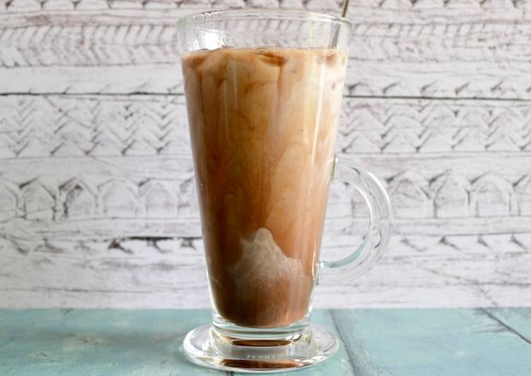Iced Chocolate Coffee