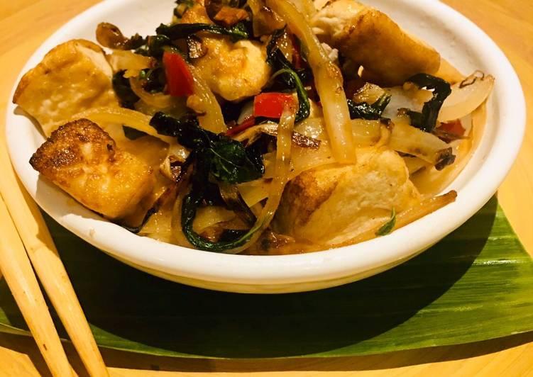 Tofu Kra Pow Kung - vegan 🌱