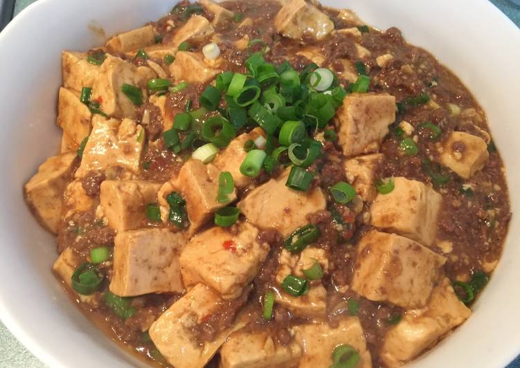 Steps to Prepare Ultimate Mapo Tofu my style