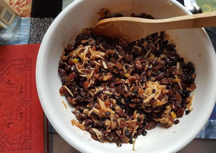 Easiest Way to Prepare Perfect Make-it-your-own Mincemeat