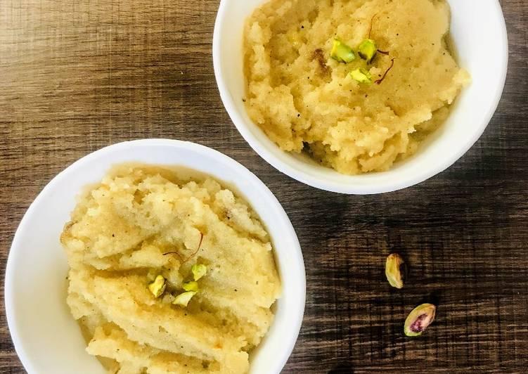 Recipe of Ultimate Suji Halwa