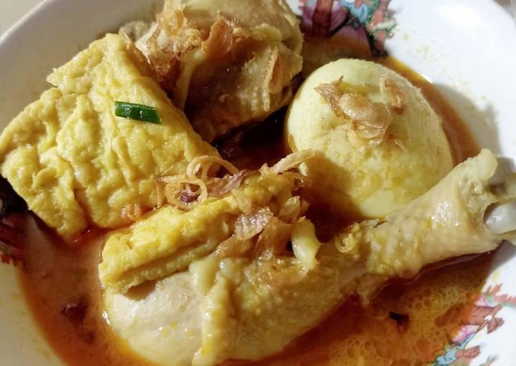 Kari Ayam-Telur bumbu instan Indofood