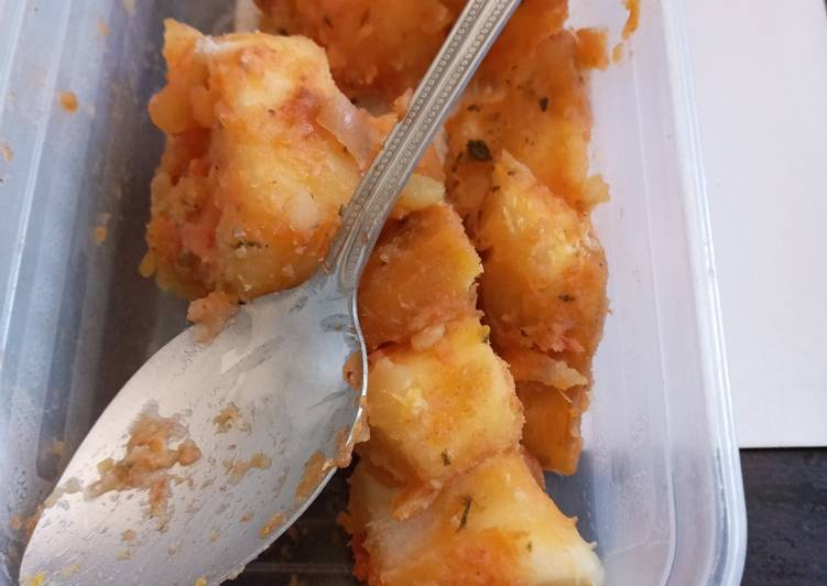Easiest Way to Make Perfect Tomato stewed cassava