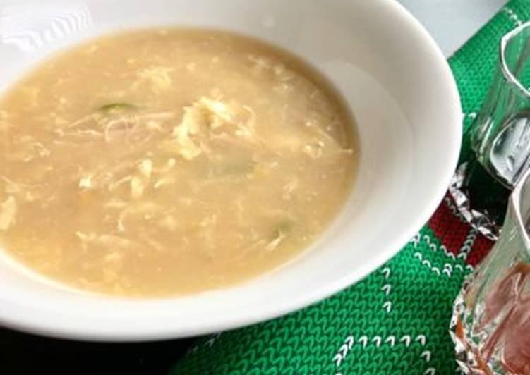 Chicken corn soup #soupcontest