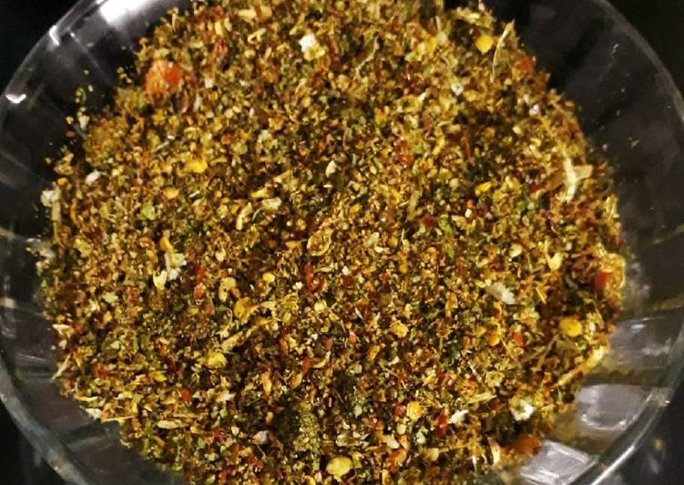 Flax seed Curry leaves Karam Podi (gun powder)