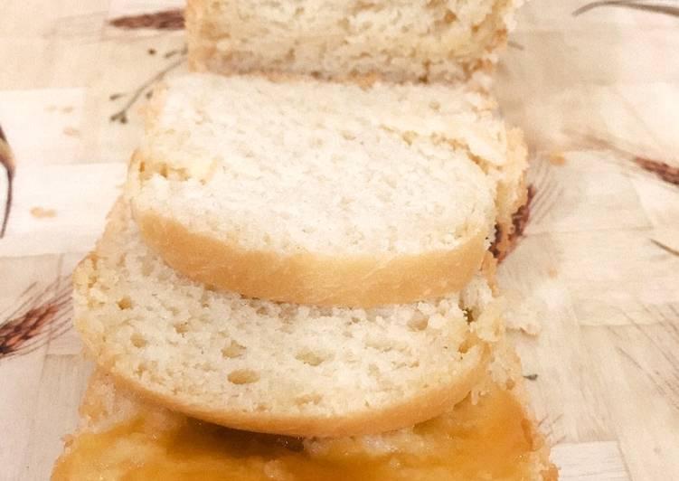 White bread eggless