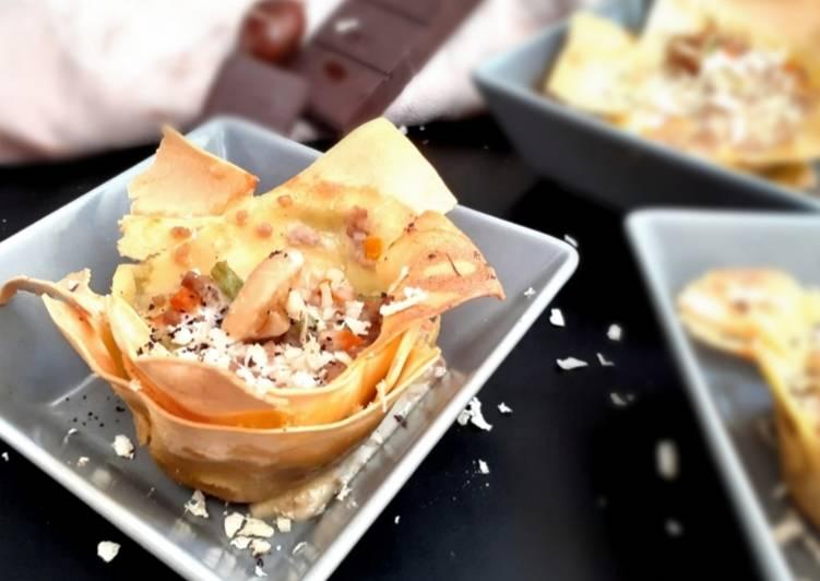 Recipe: Tasty Lasagne al ragu' di cinghiale, castagne e cioccolato di Modica