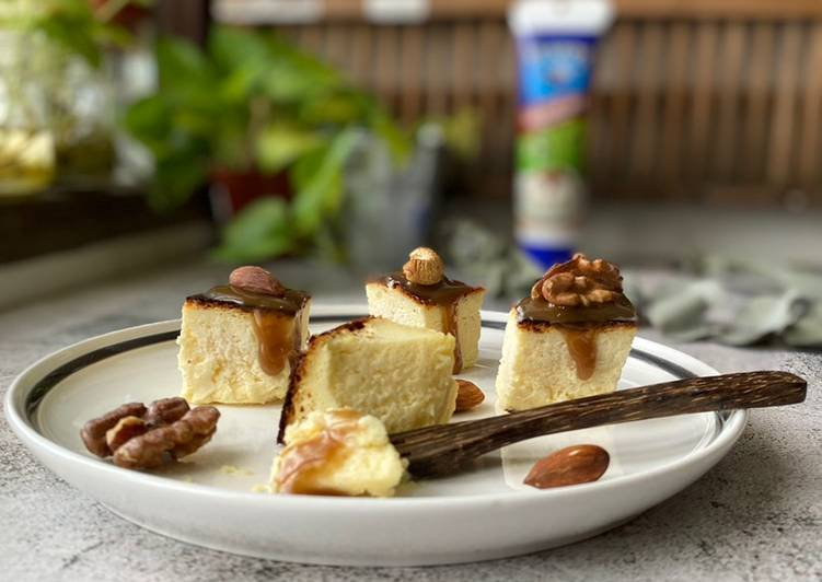 Sweetened-Nut Chesee Cake Air Fryer - resepipouler.com