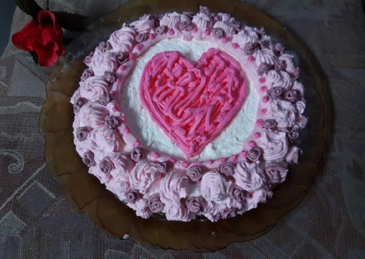 Kue ulang tahun simple - cookandrecipe.com