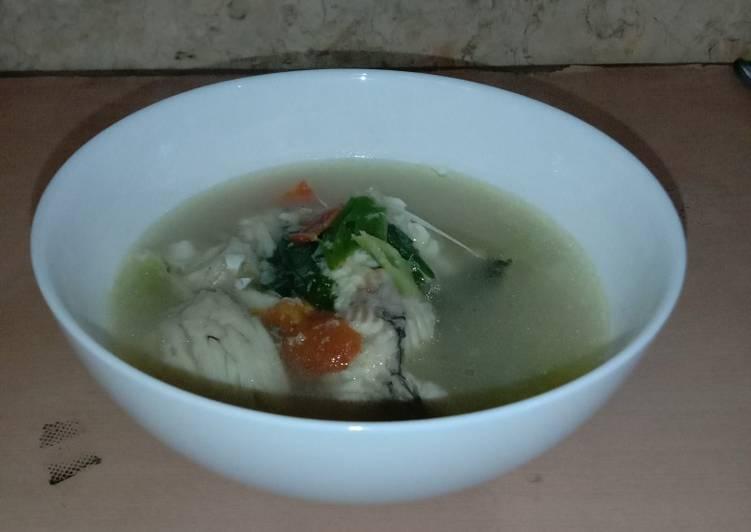 Sup ikan gurame simple 🤤
