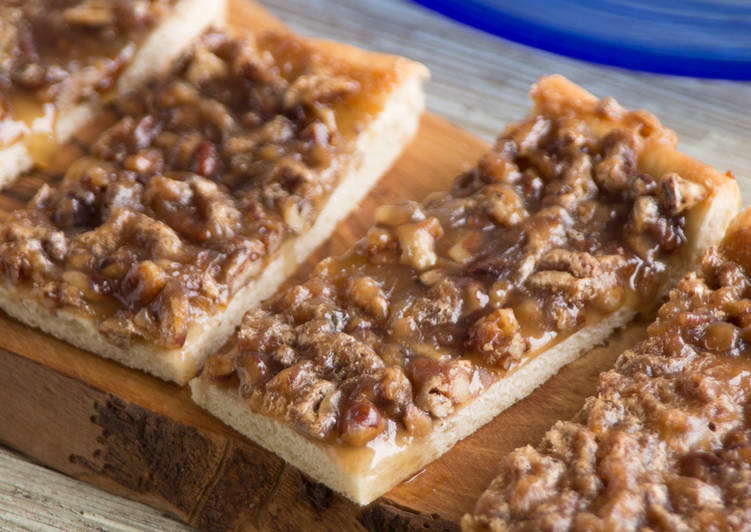 Recipe of Homemade Butter Pecan Bars