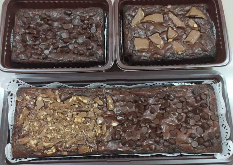 Brownies no mixer