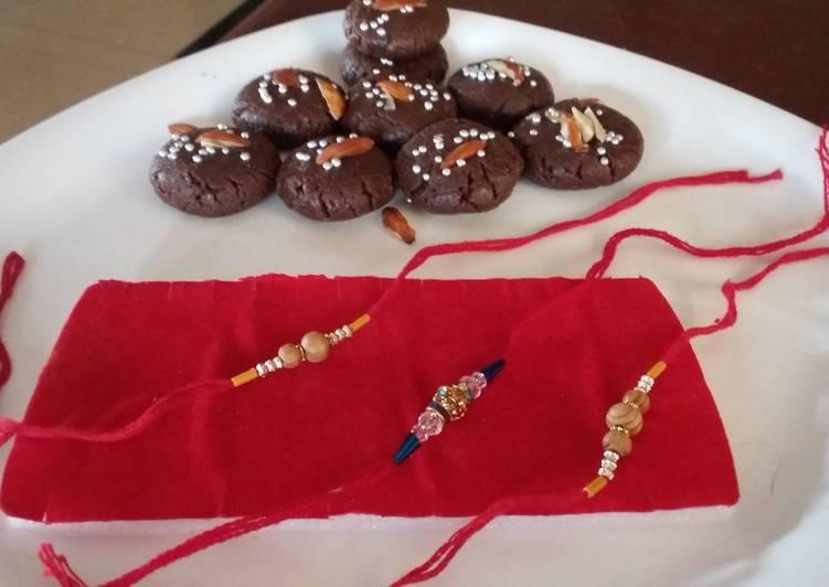 Chocolate peda...#fastivbandhan.