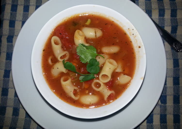 Simple Way to Prepare Award-winning Minestrone Soup