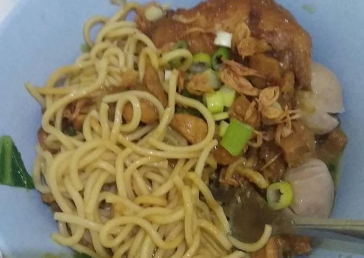Topping Mie Ayam Jamur