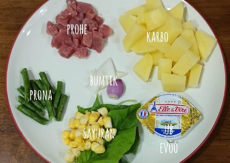 Easiest Way to Cook Perfect Mpasi 6bulan menu 4* (bubur kentang daging)